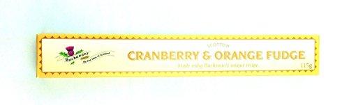 Cranberry and Orange Fudge