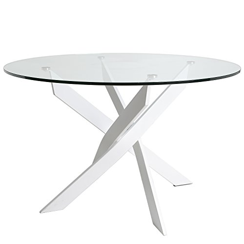 VS Venta-stock Tisch rund Ruth weiß 120_cm -