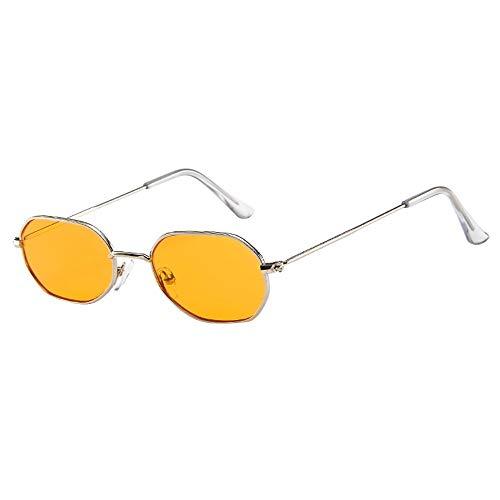 FIRSS Sonnenbrille Polarisierte Vintage Nerdbrille Metall Frame Brillen Unisex Sunglasses Extra...