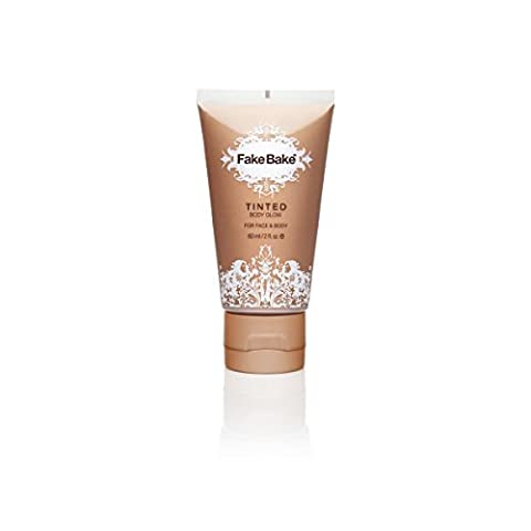 Fake Bake Tinted Body Glow 60 ml, 1er Pack (1 x 60 ml) (Tan Flawless Selbstbräuner)