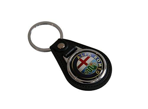 alfa-romeo-design-porte-cles-en-cuir-car-logo-key-fob