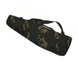 Housse De Protection Et Transport Commando Camouflage Camo Pour Airsoft 95 Cm Dmoniac 911614 Woodland
