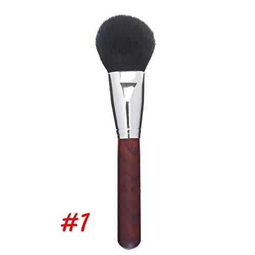 pinceaux de maquillage fixés pour la crème liquide de fond de teint crème ombre à la crème blush cosmétiques avancèrent pinceaux