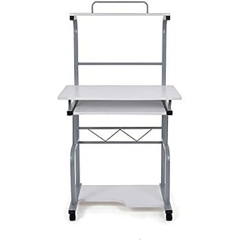 songmics bureau informatique table informatique travail ordinateur meuble de bureau pour 129 x. Black Bedroom Furniture Sets. Home Design Ideas