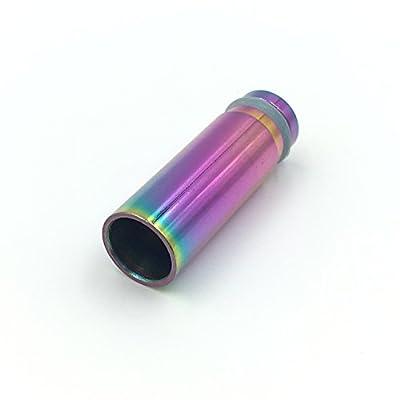DIY-24H - Driptip 510 Anschluss für Verdampfer Rainbow Regenbogen Farben Mundstück Drip Tip von DIY-24H