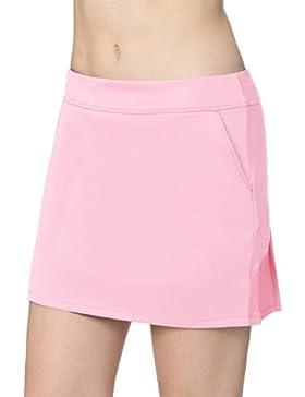 Falda Plisada De Tenis Con CordóN EláStico Mujer Skort De Golf