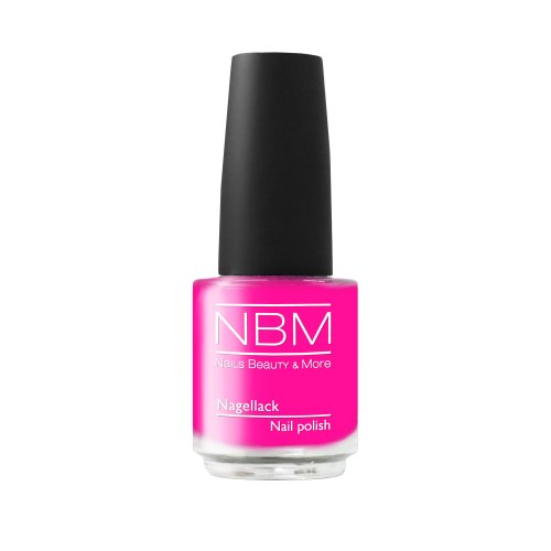 NBM Nagellack Nr. 03 power pink 14 ml