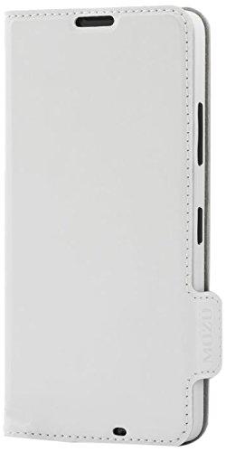 Mozo 640FW Book Schutzhülle für Microsoft Lumia 640 weiß