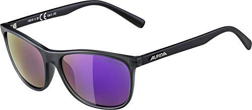 ALPINA Erwachsene Granby S QVMM Skibrille, Grey transparent matt, One Size