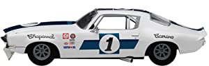 Dickie de Dickie-Schuco 413311044 - True Scale - Chaparral Camaro # 1 - 1970 - 1: 43 Trans Am, Resin, de Color Rojo