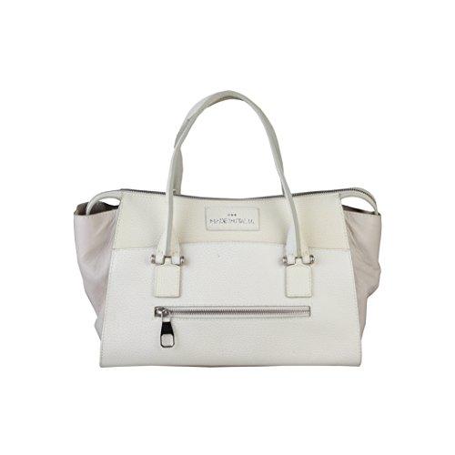 Made In Italia Bags, Borsetta da polso donna bianco
