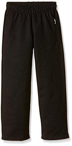 Trigema Jungen Freizeithose Sweat-Qualität, Pantalon de Sport Homme Schwarz (schwarz 008)
