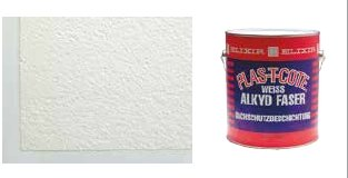 Plas T Cote Alkyd FIBER roof coating, Outhouse