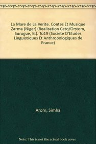 La Mare De La Viriti Contes Et Musique Zarma Niger Rialisation Ceto Orstom Surugue B To19 Bibliotheque De La Selaf Pdf Download Cliffkingsley