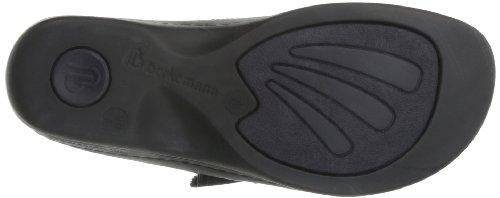 Berkemann Melbourne Fedora washable 01080, Chaussures femme Noir (Noir/noir)