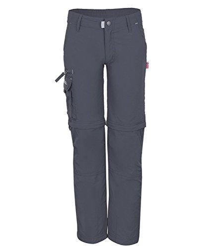 TROLLKIDS Trekking Hose Oppland Slim grau 6 Jahre (116 cm)