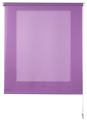 Estores Basic- Enrollable Traslúcido ,  Lila, 90x175 cm