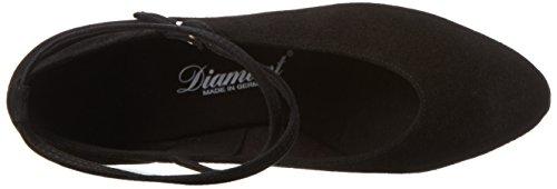 Diamant Damen Tanzschuhe 075-068-001, Escarpins Femme Noir (Black/black Bk2)