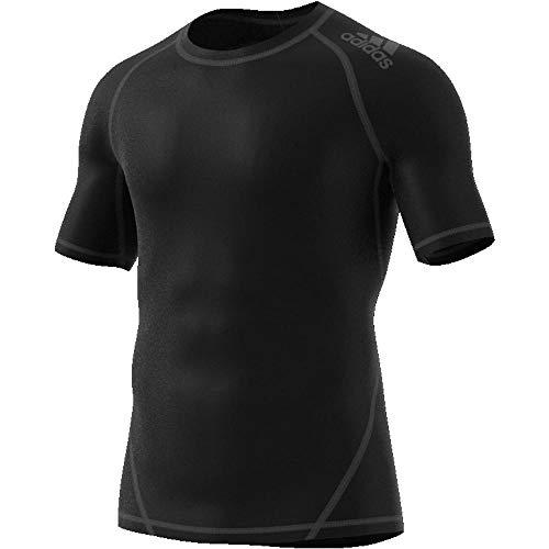 ADIDAS Herren Alphaskin Sport T-Shirt, Black, 3XL