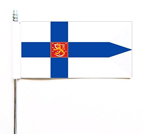 Finlandia acabado azul Ensign bandera mesa Ultimate