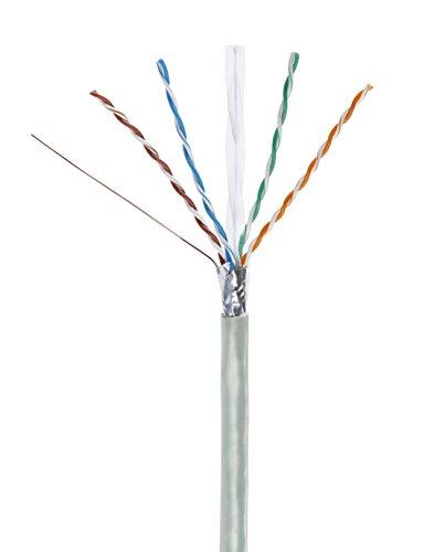 Cat6-strang (Mach Power cm-014Strang FTP CAT6, Kupfer, 23AWG, 0.55mm, 305m, grau)