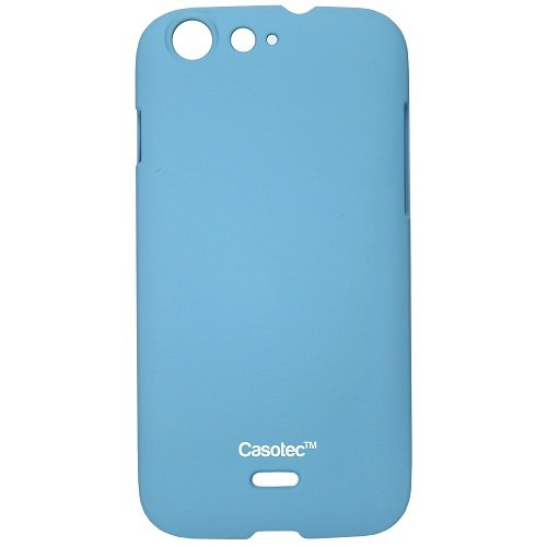 Casotec Ultra Slim Hard Shell Back Case Cover for Micromax Superfone Canvas 4 A210 - Sky Blue  available at amazon for Rs.149