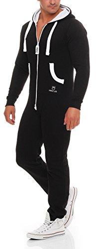 PRINZ LUIS Herren Jumpsuit Jogger Jogging Anzug Trainingsanzug Overall - 5