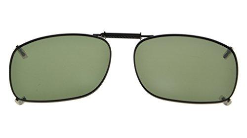 Eyekepper Metall Rahmen Felge polarisierte Linse Clip auf Sonnenbrille 54x38MM G15 Linse