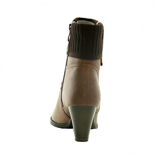 Marco Tozzi 25331 Femme Boots Fauve brown