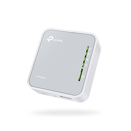TP-Link AC750 Dual Band Wi-Fi Travel Router (Support Router Mode/Hotspot  Mode/Range Extender Mode/Client Mode/Access Point Mode, 1 USB 2 0 Port/1
