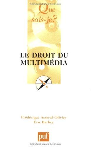 Le Droit du multimedia, 3e édition