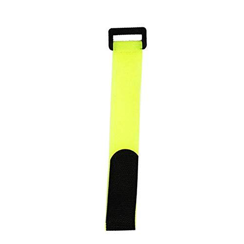 nakw88 Fahrrad Befestigung Gurt 5Pcs Befestigung Bandage Band Krawatte Reiten Fahrrad Zubehör Fahrrad Vorräte Magic Sticker Sports Tragbar Universal Multifunktions Verstellbar (20x300mmRed) - Reiten Krawatte