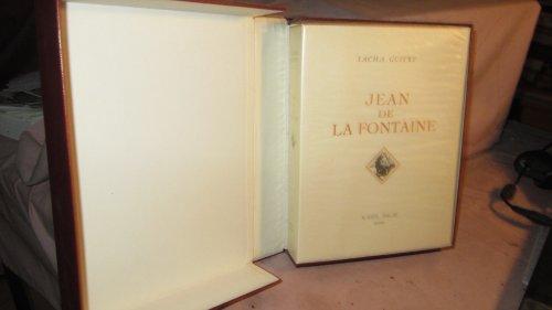 Sacha Guitry. Jean de La Fontaine : . Illustrations de Georges Lepape. Bois gravés par Henri Jadoux par Sacha Guitry