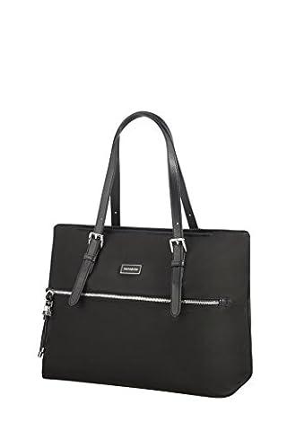 SAMSONITE Karissa - Shopping Bag M Sac de plage, 38 cm, Schwarz (Samsonite Schultertasche)