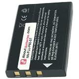 Batterie type TOSHIBA NP-60, 3.7V, 1150mAh, Li-ion