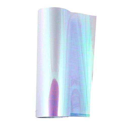 Starnearby Scheinwerfer Folie Tönungsfolie Aufkleber für Auto Scheinwerfer Rückleuchten Blinker Nebelscheinwerfer 120cm x 30cm (Weiß)