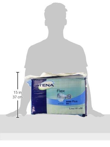 All in One Inkontinenz-Pad mit Gürtel Nottingham Rehab Supplies M90196 Tena Flex Plus - 3