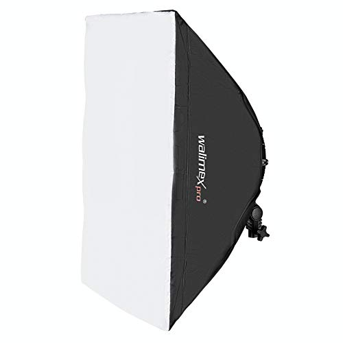 Walimex pro Softbox 50x70cm für Niova 800 Round - Softbox rechteckig für die Walimex pro Niova 800 Round LED Leuchten Serie Strip Light Softbox