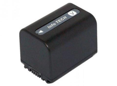 Batería de ion de litio, 6,8 V, 1960 mAh, para cámara de vídeo SONY HDR-CX105VE, HDR-CX106VE, HDR-CX110, HDR-CX110/L, HDR-CX110/R, HDR-CX110B, HDR-CX115E, HDR-CX115VE, HDR-CX116E, HDR-CX116VE, HDR-CX11VE, HDR-CX120, HDR-CX130B, HDR-CX130E, HDR-CX130ER y HDR-CX130R