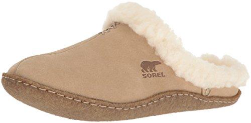Sorel - Nakiska Slide, Pantofole da donna, Beige (Incense 212), 37 EU
