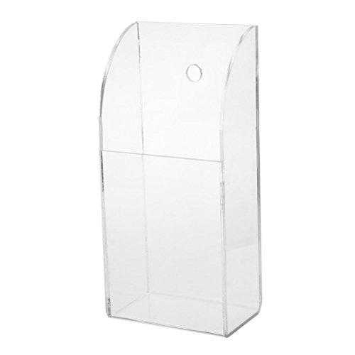 ROSENICE Fernbedienung Halter Schutzhülle, Wall Mount Aufbewahrungsbox für TV Klimaanlage -