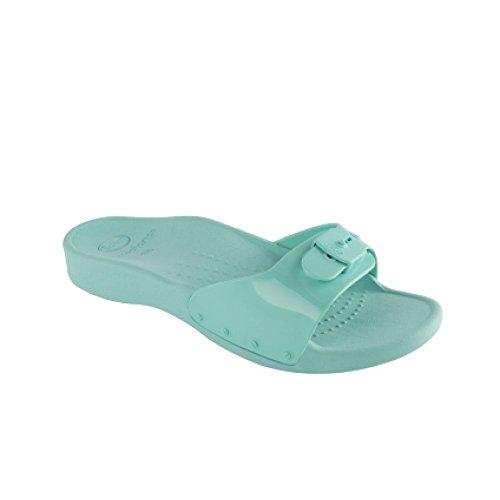 BOCKSTIEGEL? NORDERNEY Zapatos Aguamarina (36-41 Signora 3 Dise?os Neopreno), Couleur:gris / multi;Taille:41