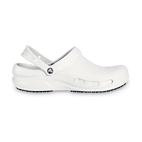 Crocs Bistro, Sabots Mixte Adulte Blanc