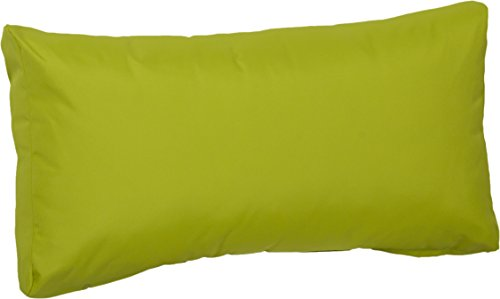 Gartenstuhl-Kissen Premium Lounge Rückenkissen Palettenkissen im Farbton hellgrün ca. 80 x 40 cm aus 100% Polyester wasserabweisend