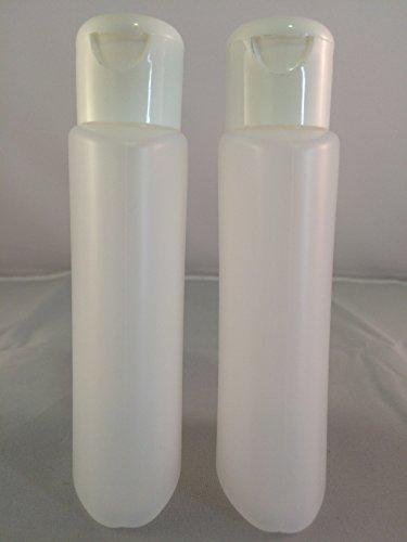 2 Flacons vide de 100 ml, spécial solvant avec capsule réducteur