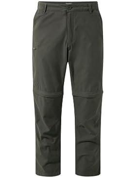 Craghoppers Trek Convertible Trousers Pantalones, Hombre, Marrón, 30
