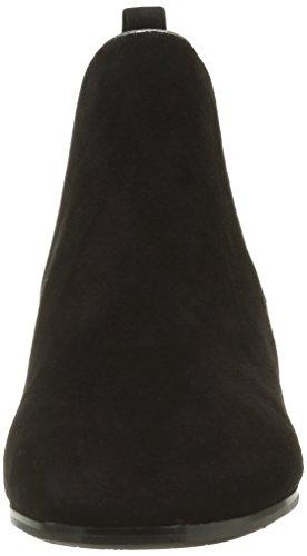 Jb Martin Unity, Bottes Chelsea Femme Noir (Ch Velours Noir/T Specio Acier)
