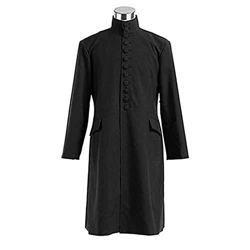 Wbzyj Hommes Femmes Halloween Robe Professeur Uniforme@Uniforme_XXXL
