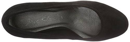Jane Klain Damen Pumps Schwarz (000 BLACK)