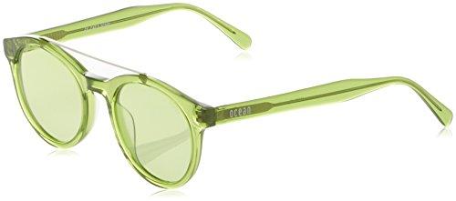 Ocean Eye, Montures de Lunettes Mixte Adulte, Transparent (Verde Trasparente), 48